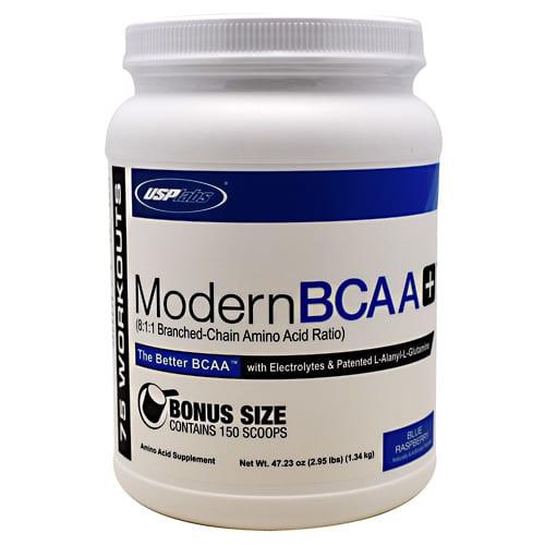 USP Labs MODERN BCAA+ BLUE RASP 75/SR