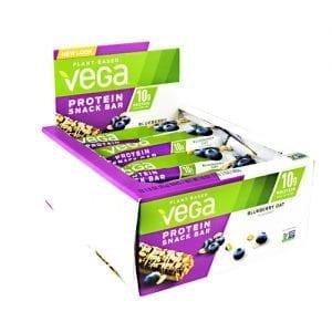Vega VEGA SNACK BAR BLUEBERRY 12/BX