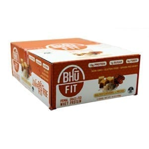 Bhu Foods BHU FIT BAR PRIMAL CARAMEL 12/