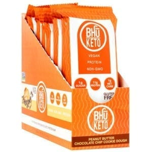 Bhu Foods BHU KETO BAR VEGAN PB CHC CHP8