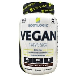 BodyLogix BODYLOGIX VEGAN CHOCOLATE 2LB