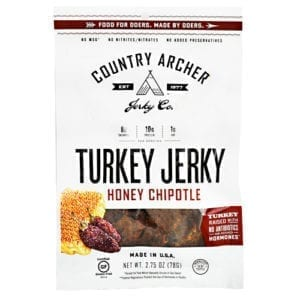 Country Archer TURKEY JERKY HONEY CHIP 2.75o