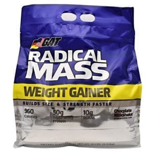 GAT RADICAL MASS CHOCOLATE 10LB