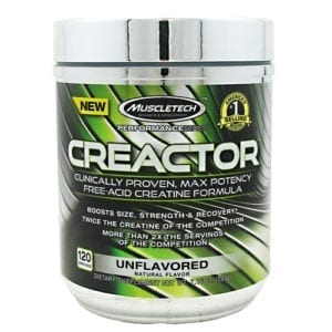 Muscletech CREACTOR UNFLAVORED 120/SERV