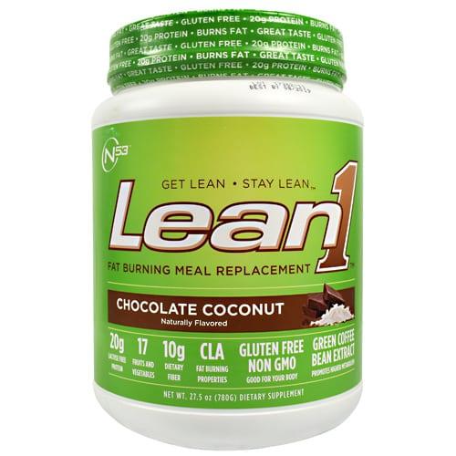 Nutrition 53 LEAN 1 PLANT CHC COCONUT 2LB