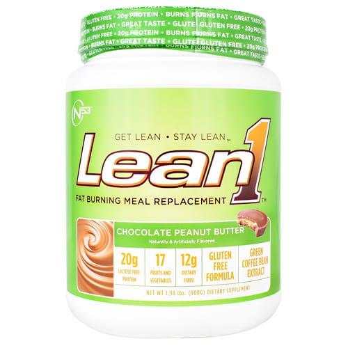 Nutrition 53 LEAN 1 CHOC PEANUT BUTTER 2LB