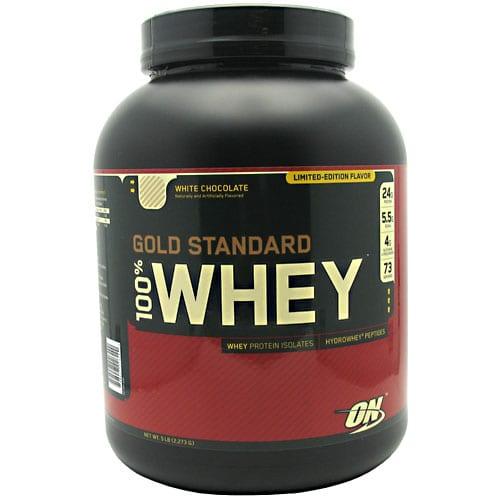 Optimum Nutrition 100% WHEY GOLD WHITE CHOC 5LB