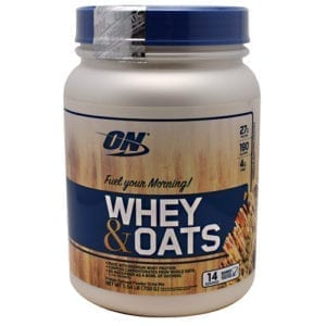 Optimum Nutrition WHEY & OATS VANILLA ALMND 14/S