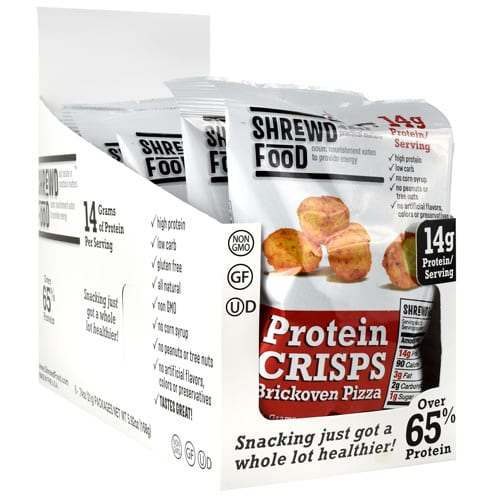 Shrewd Foods PROTEIN CRISPS BRICK PIZZA 16/