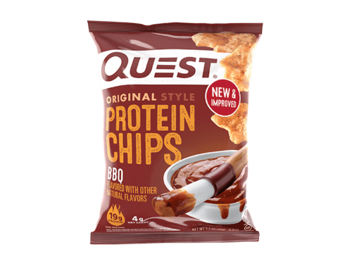 Healthy Snack Options: Quest BBQ Chips!