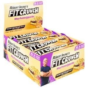 Fit Crunch Bars FIT CRUNCH BAR 46g PB & J 9/BX