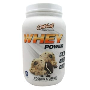 iss research whey power