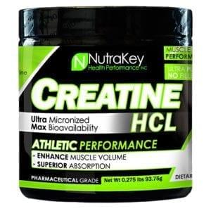 Nutrakey CREATINE HCL UNFLAVORED 125/SR