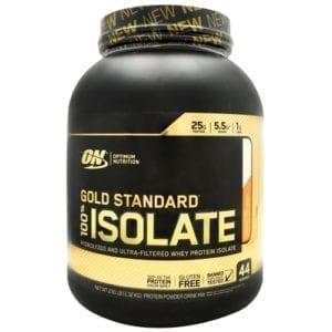 optimum nutrition 100% isolate