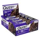 Quest Nutrition QUEST BAR NAT DBL CHOC CH 12/B