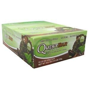 Quest Nutrition QUEST BAR MINT CHOC CHUNK 12/B
