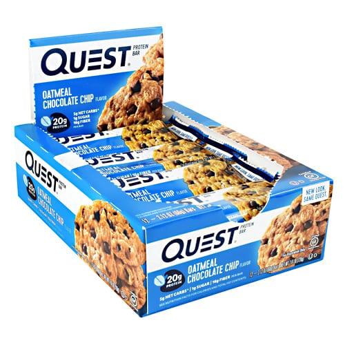 Quest Nutrition QUEST BAR OATMEAL CHC CHIP 12/