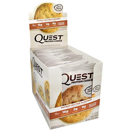 Quest Nutrition QUEST COOKIE PEANUT BTR 12/BOX