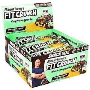 Fit Crunch Bars FIT CRUNCH BAR 46g MINT CHC 9/