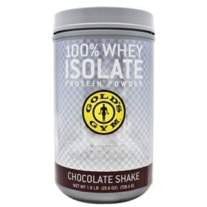 Golds Gym Performance Powders 100% ISOLATE PROTEIN CHC 1.6LB