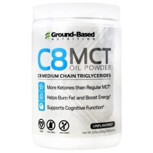 Ground Based Nutrition C8 MCT OIL PWDR UNFL 30/S DISC