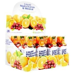high performance fitness liquid multi-vitamin & mineral