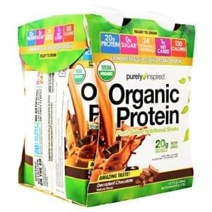 iovate organic protein rtd