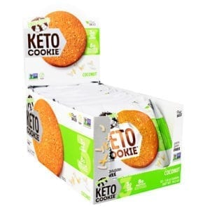Lenny & Larry's KETO COOKIE COCONUT 12/BOX