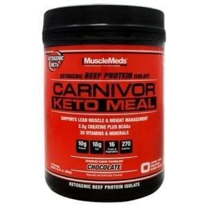 muscle meds carnivor keto meal