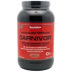 Muscle Meds CARNIVOR VANILLA CARAMEL 4LB