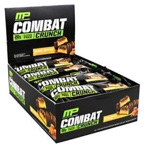 MusclePharm COMBAT CRUNCH BARS CARM CDY 12
