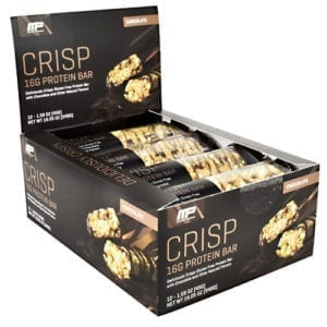 MusclePharm COMBAT CRISP BAR CHOC 12/BOX