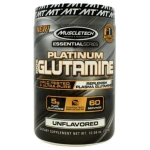 muscletech 100% platinum glutamine