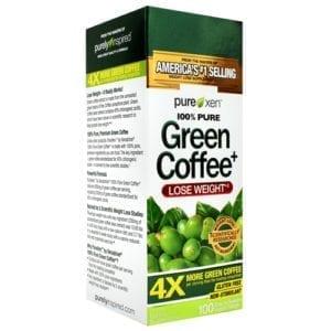 muscletech 100% pure green coffee+