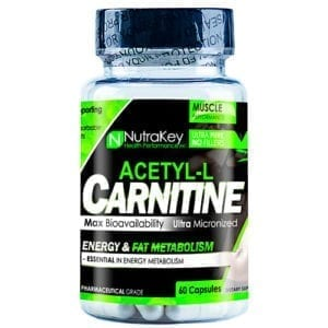 Nutrakey ACETYL L-CARNITINE 60 VCAPS