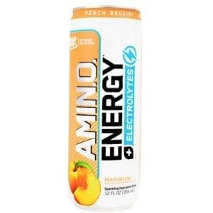Optimum Nutrition AMINO ENERGY SPRK RTD PEACH 12