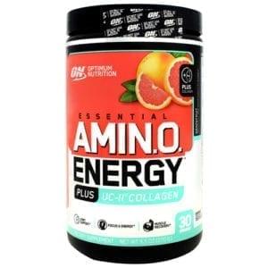 optimum nutrition amino energy plus uc-ii collagen