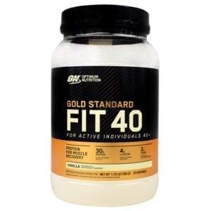 optimum nutrition fit 40 protein