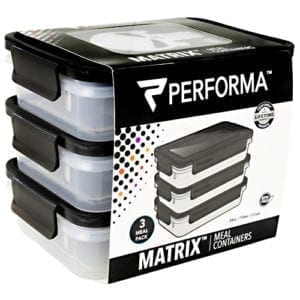 perfectshaker meal prep containers