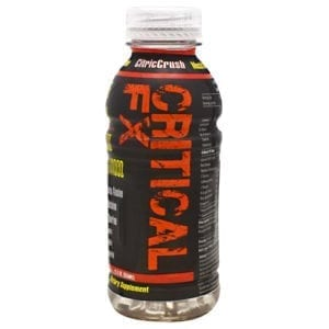 Train Naked Labs CRITICAL FX CITRIC CRUSH12oz12