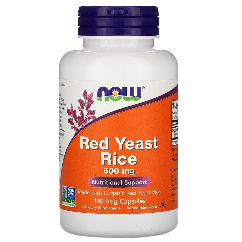 Red Yeast Rice 600 mg 120 caps
